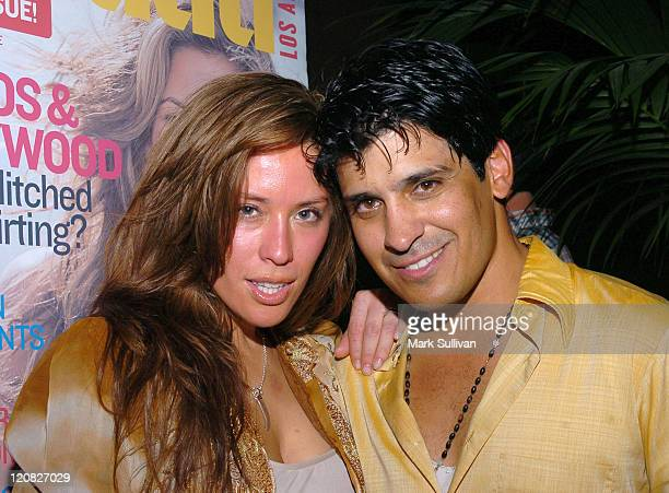 Vanessa Soler and Antonio Rufino during 'Tu Ciudad' Magazine Launch Party Red Carpet and Inside at The Roosevelt Hotel in Hollywood California United...