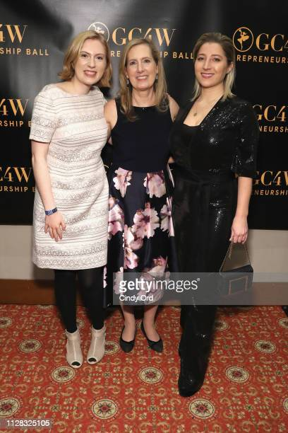 Vanessa Thompson Bonita Thompson and Jenna Blaha attend the GC4W Entrepreneurship Ball at The Harvard Club on March 1 2019 in New York City