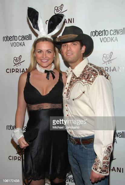 Vanessa Trump and Donald Trump Jr arrive to Roberto Cavalli's Halloween Party at Cipriani 42nd Street in New York City on October 31 2007