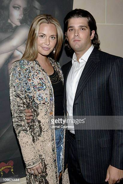 Vanessa Trump and Donald Trump Jr during Anand Jon Fashion Show and Benefit for the Stephi Stig Children's Cancer Center at Fizz in New York City New...