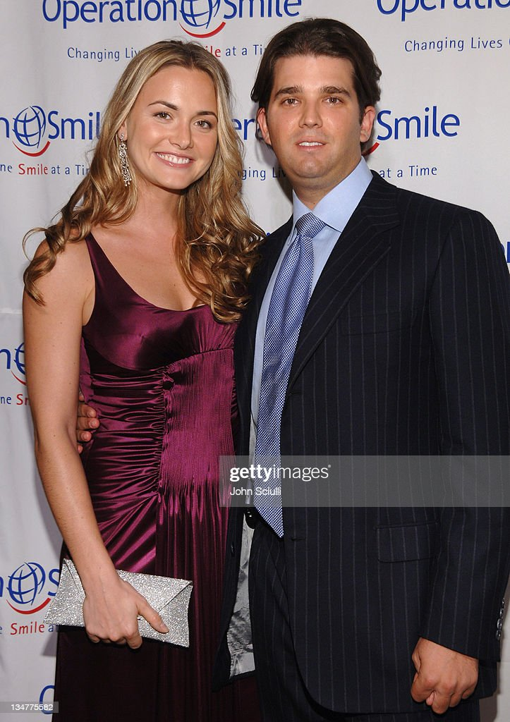 Vanessa Trump and Donald Trump, Jr. during Operation Smiles 5th Annual Los Angeles Gala at Regent beverly Wilshire in Los Angeles, California, United States.