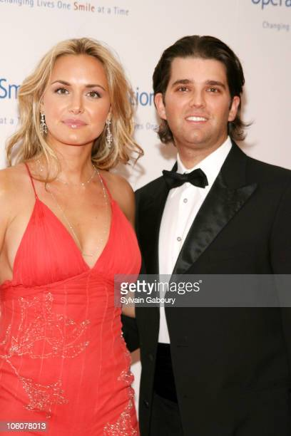 Vanessa Trump and Donald Trump Jr. During Operation Smile's The Smile Collection at Skylight Studios in New York, NY, United States.