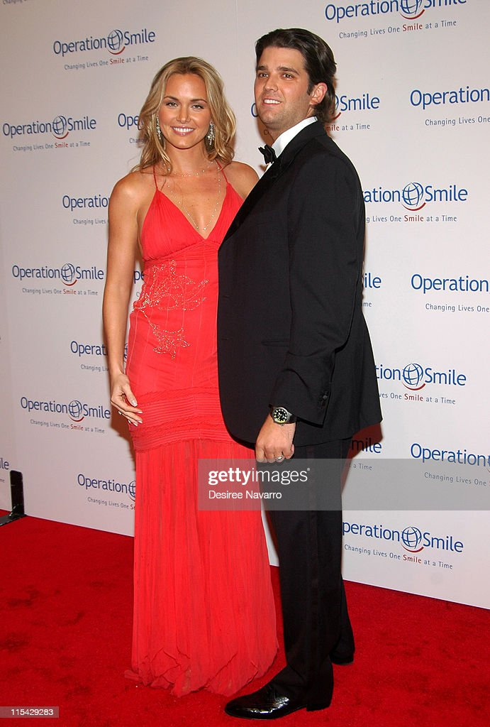 Vanessa Trump and Donald Trump, Jr. during 'The Smile Collection' - Operation Smile's Annual Charity Dinner and Live Auction at Skylight Studios in New York, NY, United States.