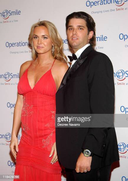 """Vanessa Trump and Donald Trump, Jr. During """"The Smile Collection"""" - Operation Smile's Annual Charity Dinner and Live Auction at Skylight Studios in..."""