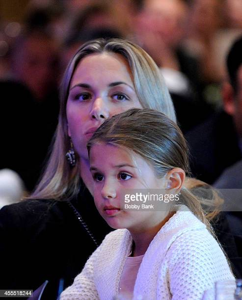 Vanessa Trump and Kai Madison Trump attend the 8th Annual Eric Trump Golf Tournament at Trump National Golf Club Westchester on September 15 2014 in...