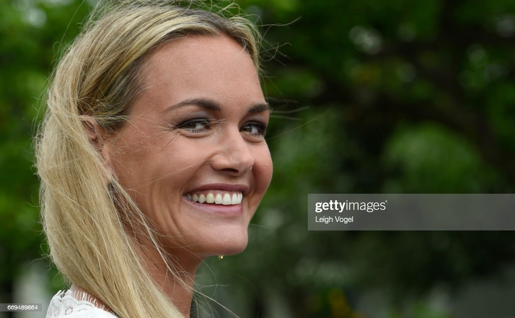 Vanessa Trump attends the 139th White House Easter Egg Roll at The White House on April 17, 2017 in Washington, DC.