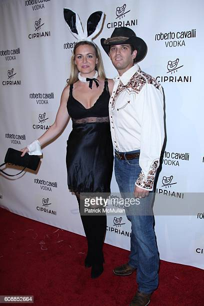 Vanessa Trump Donald Trump and Jr attend ROBERTO and EVA CAVALLI and GIUSEPPE CIPRIANI Along With ROBERTO CAVALLI VODKA Host a Halloween Party at...