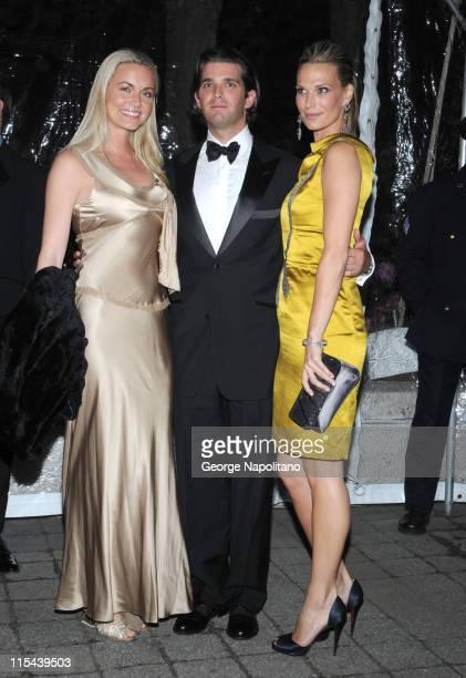 Vanessa Trump Donald Trump Jr and Molly Sims at the American Ballet Theatre's Opening Night Spring Gala on May 19 2008 at the Metropolitan Opera...