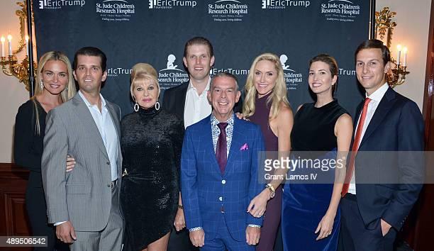 Vanessa Trump Donald Trump Jr Ivana Trump Eric Trump Elvis Duran Lara Trump Ivanka Trump and Jared Kushner attend the 9th Annual Eric Trump...