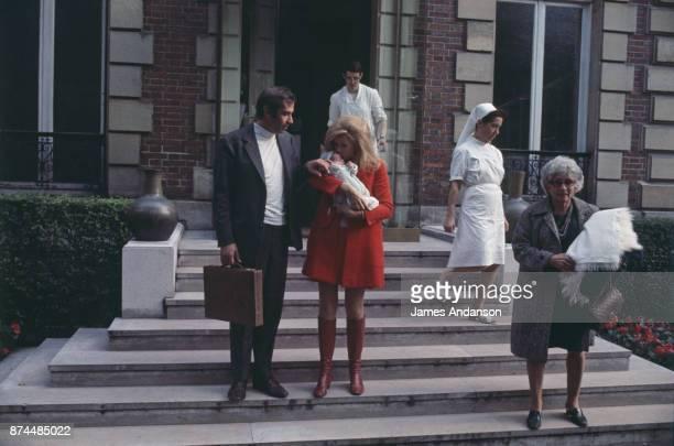 Vanessa Vadim Jane Fonda and Roger Vadim