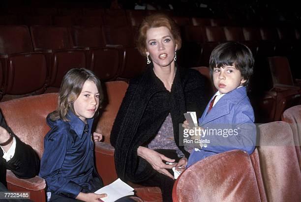 Vanessa Vadim Jane Fonda and Troy Hayden
