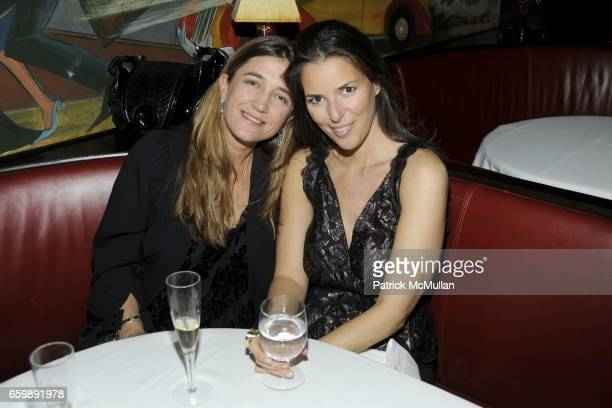 Vanessa von Bismarck and Ann Caruso attend BVLGARI 125th Anniversary Private Dinner at Monkey Bar on December 8 2009 in New York City