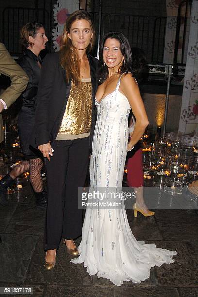 Vanessa von Bismarck and Lisa Anastos attend Whitney Museum of American Art hosts the 2005 WHITNEY GALA and After Party at Whitney Museum of American...
