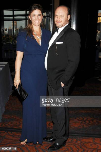 Vanessa Von Bismarck and Max Weiner attend NEW YORKERS FOR CHILDREN Sixth Annual Spring Dinner Dance 'New Year's in April A Fool's Fete' at Mandarin...