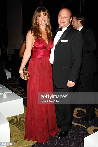 Vanessa von Bismarck and Maximilian Weiner attend NEW YORKERS FOR CHILDREN New Years in April A Fool's Fete at The Ballroom on April 19 2007 in New...