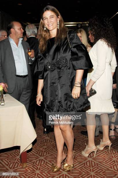Vanessa von Bismarck attends Lighthouse International POSH Preview Benefit Dinner at Doubles Club on May 12 2009 in New York City