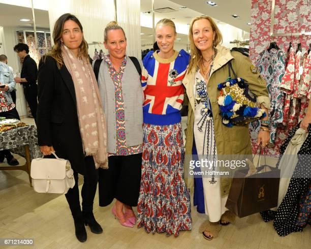 Vanessa von Bismark Riley Viall Susan Chokachi and Stephanie von Watzdorf attend Launch of La DoubleJ at Bergdorf Goodman at Bergdorf Goodman on...