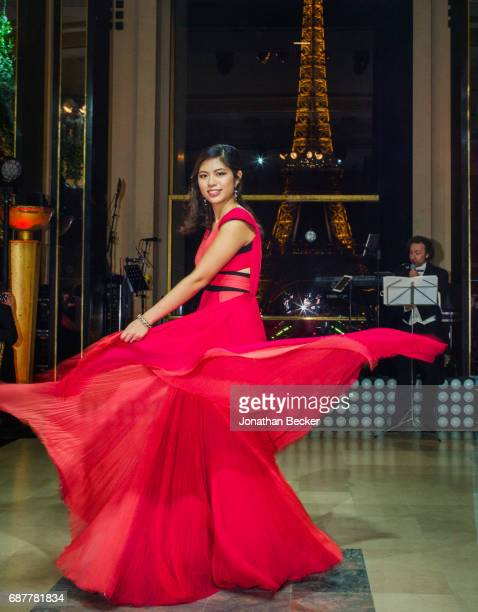 Vanessa Wang is photographed for Vanity Fair Magazine on November 28 2015 at the Palais de Chaillot in Paris France PUBLISHED IMAGE