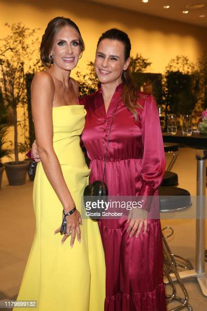Vanessa Wehrmann and Nikita Stromberg during the 26th Opera Gala at Deutsche Oper Berlin on November 2 2019 in Berlin Germany