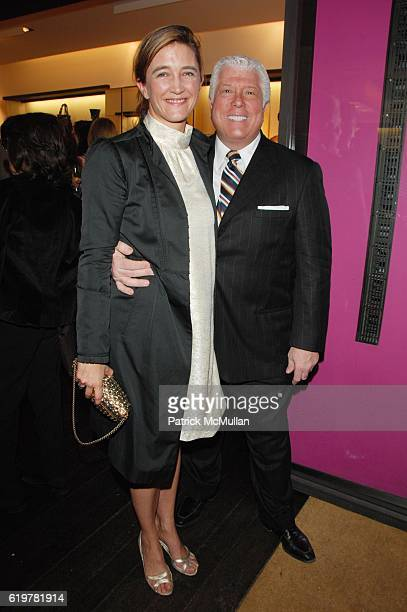 Vanessa Weiner Von Bismarck and Dennis Basso attend Ungaro Hosts the Kickoff of New Yorkers for Children's Spring Gala New Years In April A Fool's...