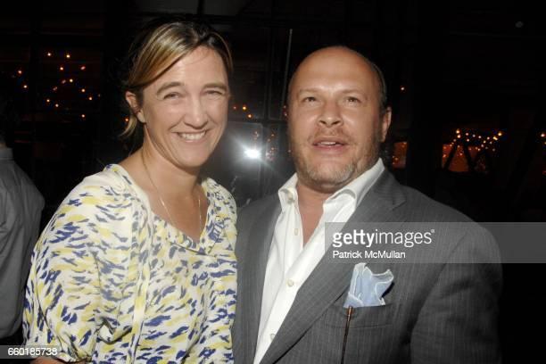 Vanessa Weiner Von Bismarck and Max Weiner attend BOSS ORANGE New Direction  Party at 601 West