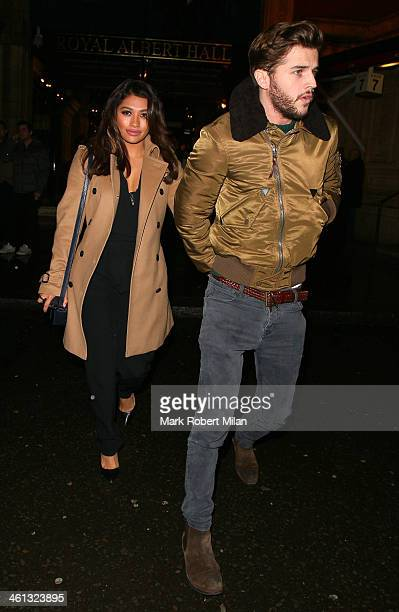 Vanessa White attends as Cirque du Soleil opens its latest show Quidam at the Royal Albert Hall on January 7 2014 in London England