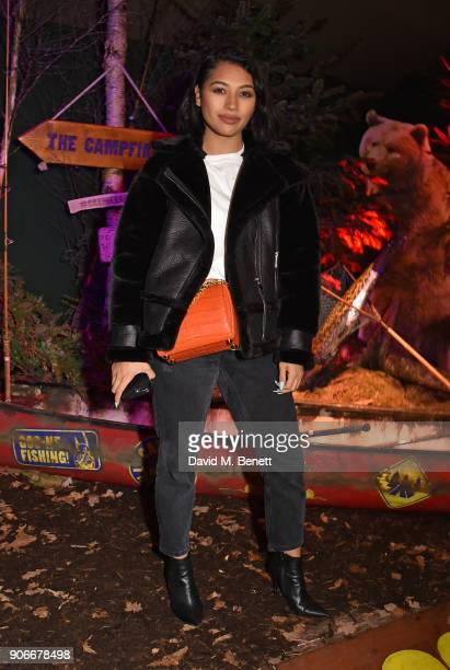 Vanessa White attends the Grand Opening of the Cadbury Creme Egg Camp on January 18 2018 in London England