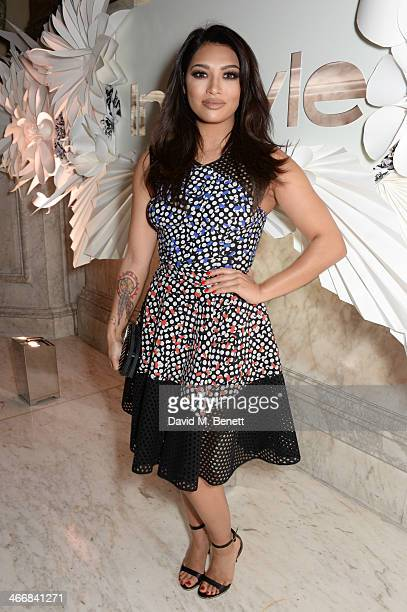 Vanessa White attends the InStyle Best of British Talent party in celebration of BAFTA, in association with Lancome and Sky Living, at Dartmouth...