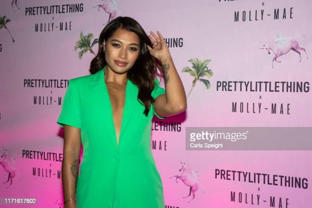 Vanessa White attends the Pretty Little Thing X MollyMae party at Rosso on September 01 2019 in Manchester England