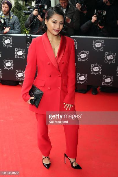 Vanessa White attends the TRIC Awards 2018 held at The Grosvenor House Hotel on March 13 2018 in London England