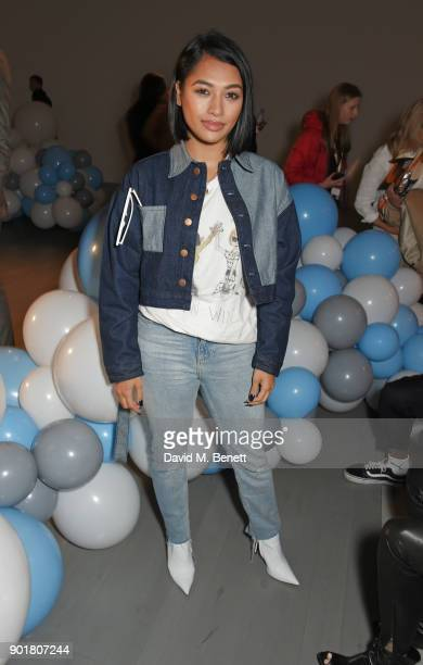 b1004568b33 Vanessa White attends the What We Wear show during London Fashion Week  Men s January 2018 at