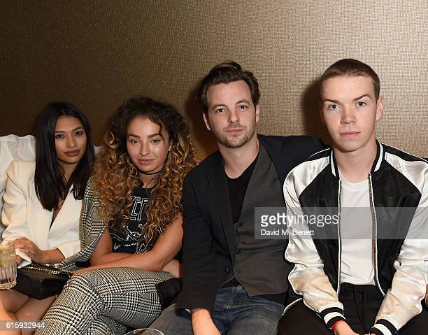 Vanessa White, Ella Eyre, Gethin Anthony and Will Poulter and attend the Sheraton Grand London Park Lane launch party on October 20, 2016 in London,...