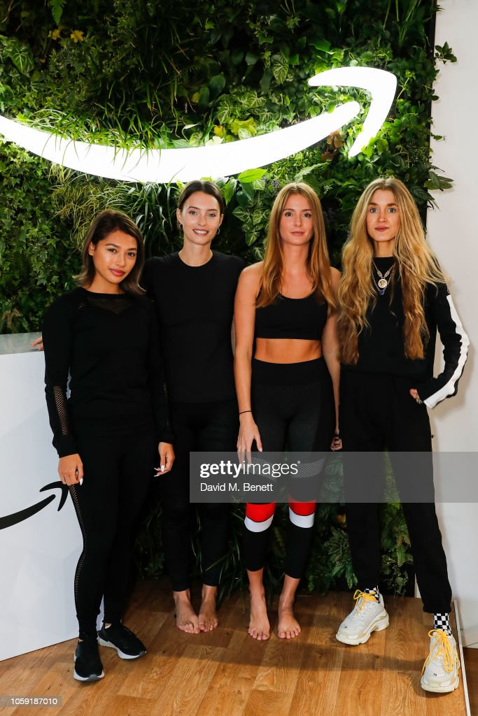 f5a2de2c3 Amazon Fashion Hosts Pop Up Shop Live Yoga with Ella Mills