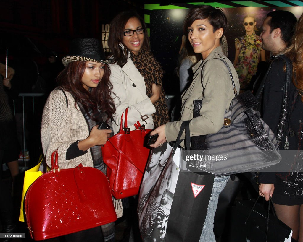 Fashion For Relief: London Fashion Week a/w 2010 - Arrivals