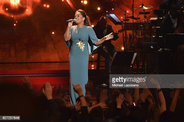 Vanessa Williamd performs onstage during 2016 VH1's Divas Holiday Unsilent Night at Kings Theatre on December 2 2016 in New York City