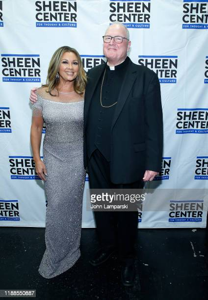 Vanessa Williams and Cardinal Timothy Dolan attend Sheen Center presents Vanessa Williams Friends thankful for Christmas with guests Norm Lewis...