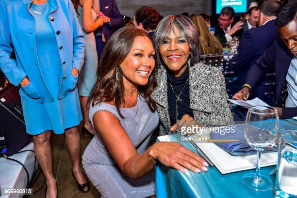 Vanessa Williams and Cicely Tyson attend HELP USA Heroes Awards Gala at the Garage on June 4, 2018 in New York City.
