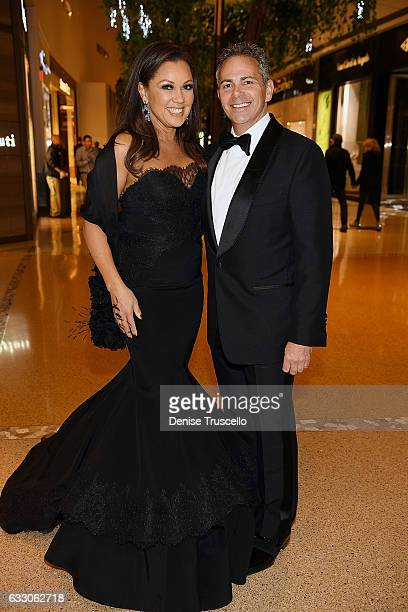 Vanessa Williams and David R Weinreb attend the Nevada Ballet Theatre's 2017 Woman of the Year Gala at the Aria Resort Casino on January 28 2017 in...
