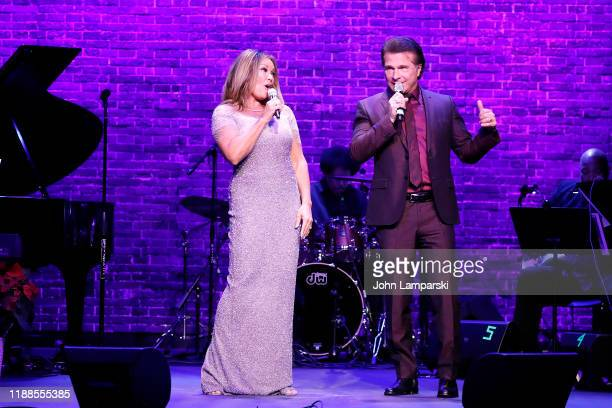 Vanessa Williams and Frank Shiner perform during the Sheen Center presents Vanessa Williams Friends thankful for Christmas with guests Norm Lewis...