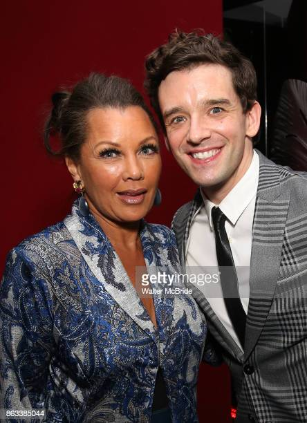 Vanessa Williams and Michael Urie attend the OffBroadway Opening Night After Party for the Second Stage Production on 'Torch Song' on October 19 2017...