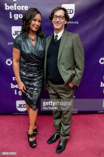Vanessa Williams and Stan Zimmerman attends the 'Right Before I Go' Benefit performance at Town Hall on December 4 2017 in New York City