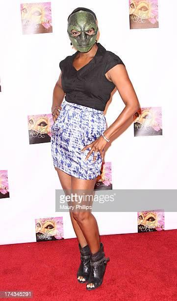 Vanessa Williams arrives at Kym Whitley's 40th Birthday Celebration at Rain Nightclub on July 23 2013 in Studio City California