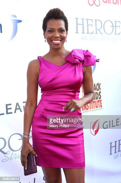 Vanessa Williams arrives at the 16th Annual Heroes In The Struggle gala reception and awards presentation at 20th Century Fox on September 16 2017 in...