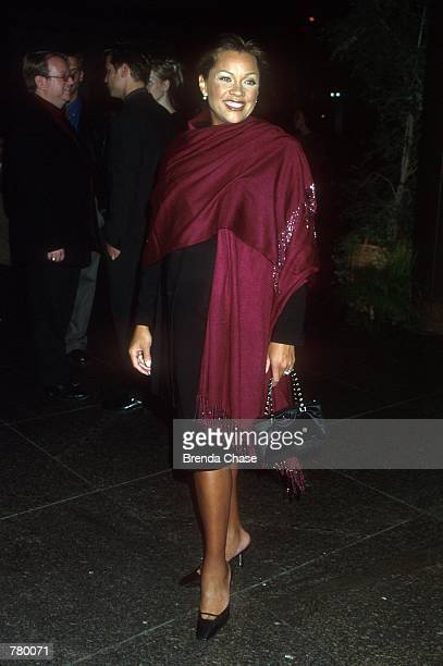 Vanessa Williams arrives for the premiere of the TNT Original Film Don Quixote in West Hollywood California March 30 2000