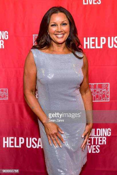 Vanessa Williams attends HELP USA Heroes Awards Gala at the Garage on June 4 2018 in New York City