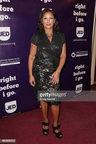 Vanessa Williams attends 'Right Before I Go' One Night Only Benefit Performance at Town Hall on December 4 2017 in New York City