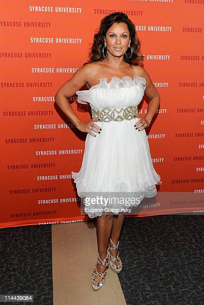 Vanessa Williams attends Syracuse University's School of Visual Performing Arts 2011 Gala Fashion Show at JP Morgan Chase on May 19 2011 in New York...