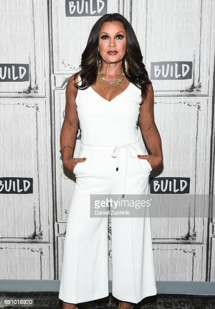 Vanessa Williams attends the Build Series to discuss the new VH1 show 'Daytime Divas' at Build Studio on May 31 2017 in New York City
