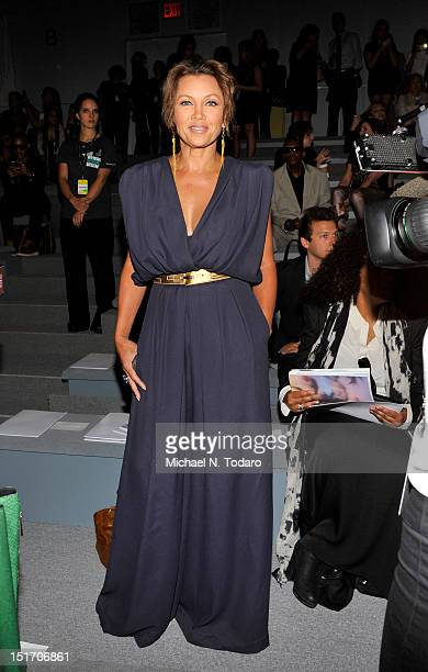 Vanessa Williams attends the Carlos Miele show during Spring 2013 MercedesBenz Fashion Week at The Stage Lincoln Center on September 10 2012 in New...