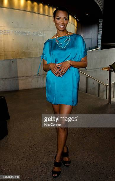 Vanessa Williams attends the Community Education Group's National Women and Girls HIV/AIDS Awareness Day at Arena Stage on March 9 2012 in Washington...